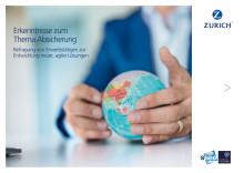 """Broschüre """"Studienergebnisse zum Thema Absicherung in Deutschland"""""""