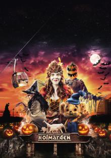 Nytt skräckhus och ny Bamseföreställning på årets Halloween på Kolmården