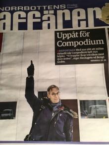 Compodium lyfter Norrbottens affärer