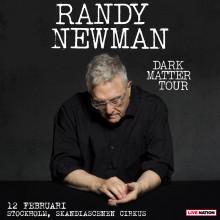 RANDY NEWMAN TVINGAS STÄLLA IN HELA EUROPATURNÉN