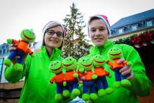 Jolinchenverkauf auf Leipziger Weihnachtsmarkt – Einnahmen  werden komplett an das Kinderhospiz Bärenherz gespendet