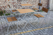 Jetzt neu: Stadtmöbel mit Kebony Holz