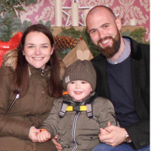 Grateful parents share story to thank charity for 'Home from Home' at carol service
