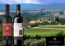 Nyheter på Systembolaget från en av Italiens topproducenter San Felice