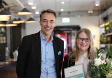 24-åriga Beatrice tog hem sommarjobbet som VD och koncernchef med 100 000 kronor i lön