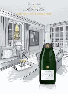 "Champagne Palmer Co Blanc de Blancs - magnum, toppårgång och ""half magnum"""