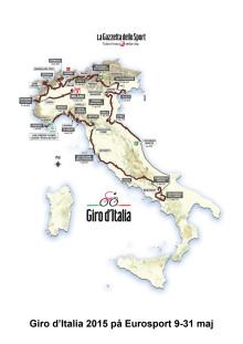 Eurosports guide till Giro d'Italia 2015