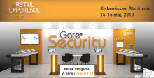Träffa Gate Security på Kistamässan 15:e och 16:e maj 2019