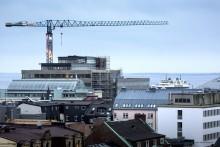 Endast svag ökning av husbyggandet 2017