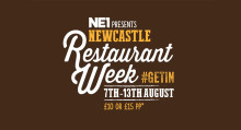 NE1 Newcastle Restaurant Week – 7-13 August