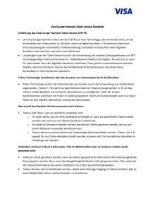 Visa Europe Token Service Factsheet