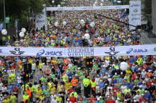 Stockholm Marathon Gruppen syns i media