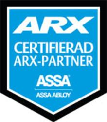 Certifiering för ARX Passersystem på SafeTeam Lås-Borgström i Malmö