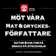 Träffa några av Sveriges främsta kokboksförfattare på Smaka på Stockholm