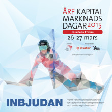 Inbjudan Åre Kapitalmarknadsdagar 2015