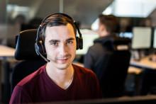 Teknikern Patrik känner stolthet när kunderna växer med Dialects IT-lösningar