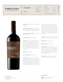 Produktblad VIGNO 2015