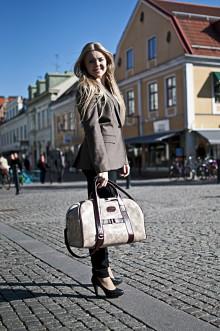 Produktserie i exklusivt kalvskinn från Målerås Läder