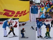 Vellykket DHL Express barneskirenn med Henrik Kristoffersen