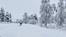 Enorm respons när Petter skidade 60 mil för Musikhjälpen