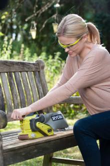 Ryobis nya ONE+ 18V  verktyg för träbearbetning