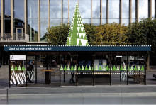 Julstämning i Göteborgs kollektivtrafik
