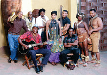 Re Batswana Music Ensemble Tour på Hotel Hellsten