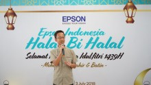 Perkuat Hubungan dengan Stakeholders,  Epson Indonesia Adakan Halal Bihalal 2018