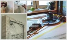 Marmorering, en sann konst för innovativa, nyskapande skyltkoncept från Clarex