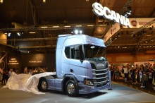 The sun shone over Scania's historic premiere