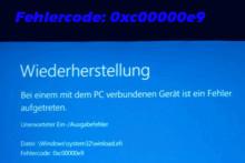 [9 Methoden] So beheben Sie den Windows Fehler 0xc00000e9 – Methode 8 ist sehr ausgezeichnet!