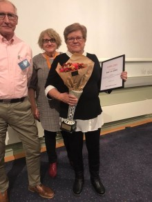 Årets medlem: Siw på Söder uppskattas för sitt engagemang.