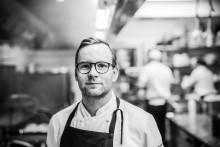 Extravagant förstärkning i köket på Högberga Gård