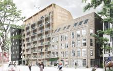 Woodhouse Rosendal växer fram – ny växel i bostadssatsning