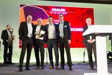 Swecon blev årets återförsäljare i Volvo CE Region EMEA 2017