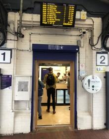 Thameslink's coffee connoisseurs enjoy bespoke brews at Loughborough Junction station