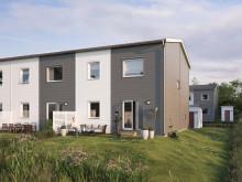 Boklok bygger hållbara radhus i Mariefred