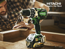 Nyhet fra Hitachi! Slagbormaskin 18V DV18DBL2 med kraftig børsteløs motor og ny RFC-teknologi.