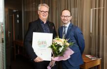 Trivector får SJs diplom för miljösmart resande