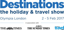 Visit us at the London Destinations Show