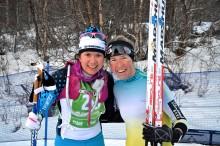 Astrid Öyre Slind och Andreas Holmberg vann i Vålådalen