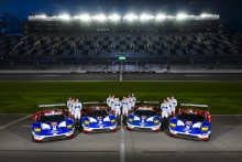 A Ford Ganassi Chip Racing készen áll a Daytona Rolex 24 órás futamra