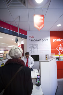 Post Office's free fast-track Drop and Go service now available at over 11,000 branches - two week discount available to users of pre-paid postage service