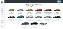 Volkswagen lanserar ny hemsida