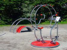 Nytt utegym i Mjärdevi Science Park