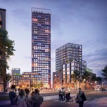 Semrén & Månsson och Serneke utvecklar hållbar stad på höjden i Lund