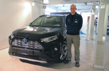 Nordvik starter byggeprosessen og flytter Toyota virksomheten inn i midlertidige lokaler.