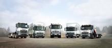 Lastbilen er klar til levering, inden du bestiller den