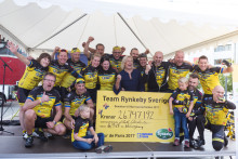 FocusNeo stödjer Barncancerfonden och Team Rynkeby-God Morgon Täby