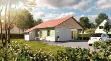 """Glückswelthäuser"": Kompaktes Massivhaus mit barrierearmen Konzept"